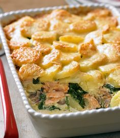 Salmon & Potato Bake