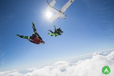 Tandem jump in Zadar, one of the most scenic drop zones in Croatia. Tandem Jump, Drop Zone, Skydiving, Croatia, Kayaking, Fighter Jets, Tours, Vacation, Kayaks
