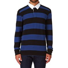 Vans Av78 Rugby Long Sleeve T-shirt - Exblusive/black