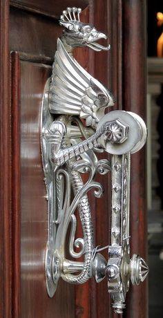 Dragon Door knocker.