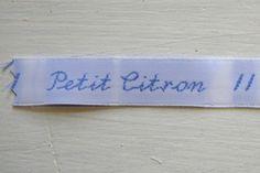 Tutoriel: étiquettes personnalisées « Blog de Petit Citron
