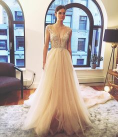 Spectacular New York Bridal Fashion Week Show fall new collection wedding dress designer bridal gown catwalk runway Inspiration New York Bridal Week