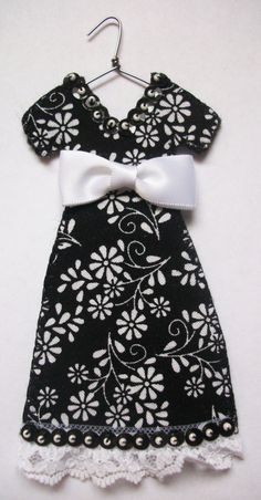 Modern Millie Miniature Dress by agapeboutique on Etsy, $9.95