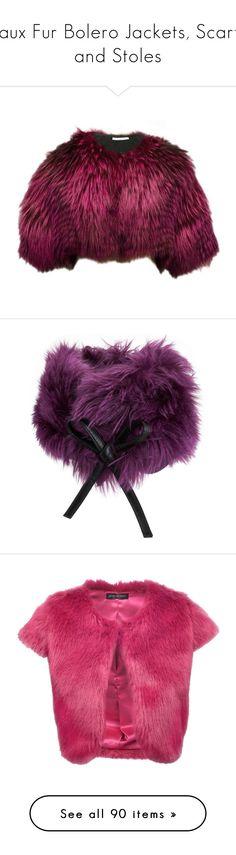 Fox Fur Jacket, Bolero Jacket, Faux Fur Bolero, Purple Jacket, Polyvore Outfits, Fur Coat, Budget Wedding, My Style, Scarfs