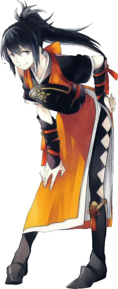 Fire Emblem Fates - Loving this pose of Oboro!