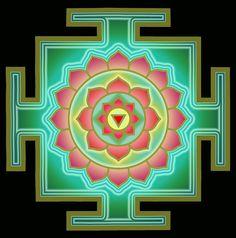 Tara Yantra - A meditation device each having a specific purpose or intent. This is Tibetan yantra. Mandala Painting, Mandala Drawing, Mandala Tattoo, Mandala Art, Stone Painting, Tantra Art, Shri Yantra, Hindu Rituals, Mudras