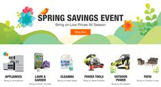 Home Depot : Up to 20% Off Spring Essentials From Select Brands Off Spring, 20 Off, Printable Coupons, Fresh Start, Home Depot, Saving Money, The Selection, Innovation, Shop Now