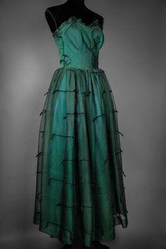RARE robe #vintage du soir #1940