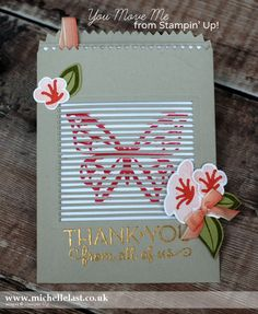Moving Cards made using the You Move Me Bundle from Stampin' Up! made by the UK's #1 Demo Michelle Last