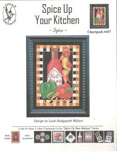 Spice Up Your Kitchen pattern