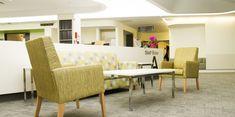 Casey hospital, furnishing textiles, performance fabrics