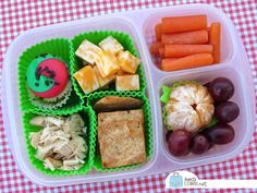 BentoLunch.net - What's for lunch at our house: Mix & Match Bento