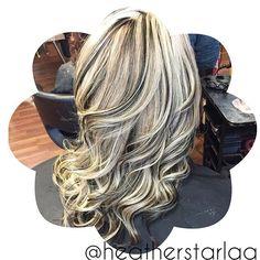 Heather Fox @heatherstarlaa Blonde with black...Instagram photo | Websta (Webstagram)