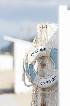 Welcome on Board Coastal Style, Coastal Living, Coastal Decor, Summer Breeze, Summer Vibes, Beach Day, Summer Beach, Photo Nom, Deco Marine