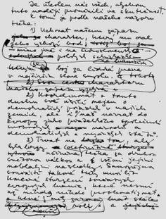 Havlův návrh deklarace Visegrádské čtyřky v roce 1991.