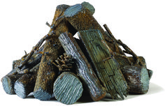 Gas Fire Logs, Gas Fires, Steel Fire Pit, Fire Pits, Custom Fire Pit, Steel Sculpture, Branches, Profile, Rustic