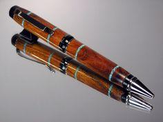 Sleeping Beauty Pen | ... Sleeping Beauty Turquoise Inlay Cigar Pen Black Titanium Hardware