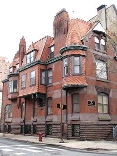 Philadelphia, Pennsylvania.I think this will make a good apartment building.