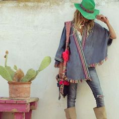 Boho trend. Hippie Chic, Estilo Hippie, Hippie Style, Boho Chic, My Style, Modern Hippie, Born To Be Wild, Boho Fashion, Womens Fashion