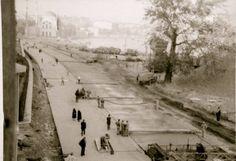 Yol genişletme çalışmaları, Kabataş, 1957 civarı