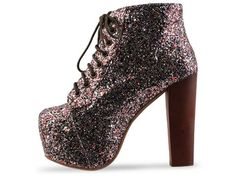 Jeffrey Campbell Glitter Lita's   $160... Who want to buy me these? As well as a taupe, black and brown pair???