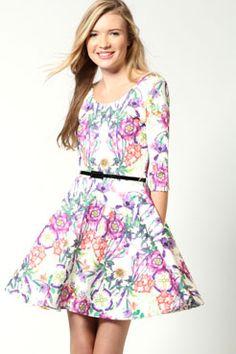 I love skater dresses