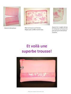 Tuto Trousse paillettes sequins #tuto #couture #diy #emercerie
