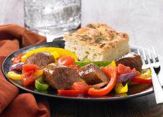 Johnsonville Italian Sausage & Pepper Skillet (Delish!)