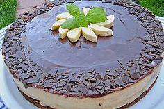 Bananen - Schokolade - Torte