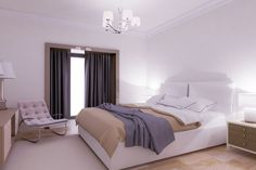 3D Max Tutorial Interior Bedroom Modeling 2016 Vray+Photoshop