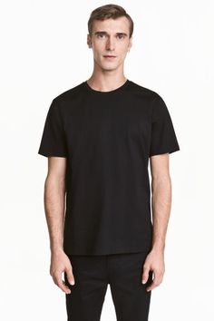 c479811bc5b7 Premium cotton T-shirt - Black - Men