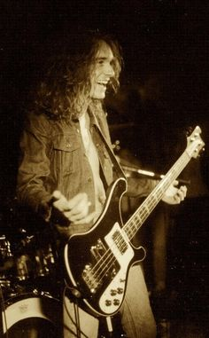Cliff Burton of Metallica......DIED AT THE AGE OF 24 DUE TO A BUS ACCIDENT THAT KILLED HIM.....