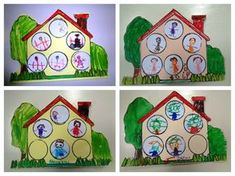 Preschool My Family Crafts My Family Ideas For PreschoolBack To 26 Curious Preschool My Family CraftsBrilliant Lessons Preschool My Family Crafts Family Art Ideas For Preschool, Preschool My Family Crafts My Family Ideas For. Home And Family Crafts, Family Art Projects, Kindergarten Activities, Family Activities, Preschool Activities, Preschool Family Theme, Preschool Crafts, Family Day, Art For Kids