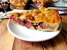 Una pincelada en la cocina: tarta de manzanas y moras,  os cautivará !!