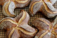 Shaping Pinwheel Loaves ~ Step-by-Step Instructions.