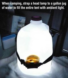 Great idea for camping , must remember this one.