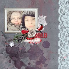 Challenge -Mini O - January 2016 - Forum January 2016, Digital Scrapbooking, Berries, Archive, Challenges, Events, News, Mini, Frame
