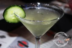 Cucumber-Basil Martini | Cupcakes, Cocktails & Kids