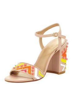 Both Embellished City Sandal