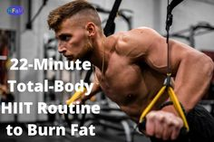 22-Minute Total-Body HIIT Routine to Burn Fat_ Cardio Workouts, Hiit, Jumping Jacks Workout, Fitness Goals, Health Fitness, Overhead Press, Resistance Workout, Workout Warm Up, Ways To Burn Fat
