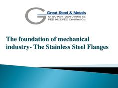 Want to get details on the foundation of mechanical industry… Have a look on this presentation