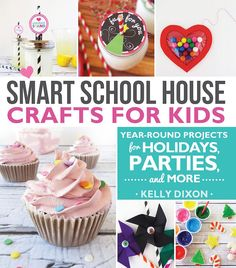 Keep kids engaged in smart, fun activities! These clever crafts help kids put on their thinking caps and create cool things from everyday, inexpensive items. No matter the occasion, parents and kids alike are laughing and learning about out-of-the-box art.