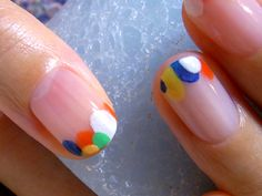 Dear bride, can I do this to my nails in shades of blue?    [荻窪] hokuri