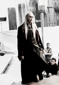 """loriendesse: """"#headcanon that this is young thranduil being summoned to the throne room by oropher #'jfc dad what is it this time??' (x) """""""