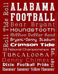 .My crimson tide did not do very well today but we all loose some win some right? we can do it next time!!