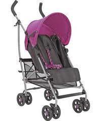 Mamas and Papas folding Pink Swirl Pushchair Pram Buggy Stroller + Raincover |