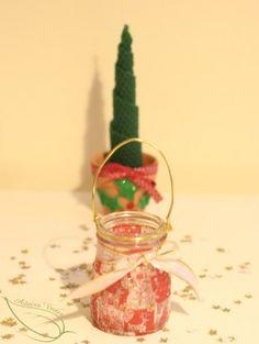 déco de Noël réalisée par les enfants