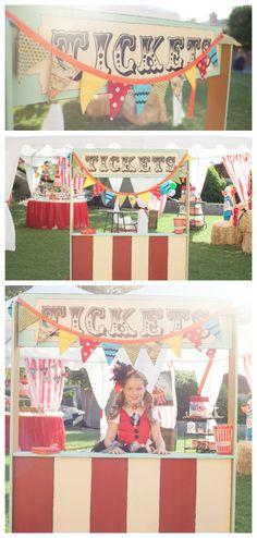 ♥ Anniversaire enfant - Thème cirque/fête foraine ♥