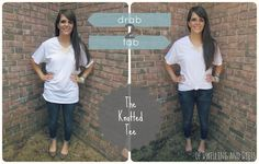 of Dwelling and Dress: Drab to Fab: Knotted Tee