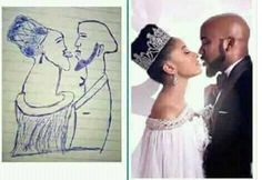 See this horrible drawing of Banky W & Adesuwa Etomi http://ift.tt/2izxgSj